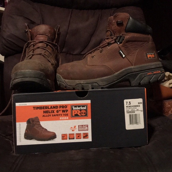 "6f5106d02d5 Timberland Pro Helix 6"" Waterproof Alloy Toe Boots"